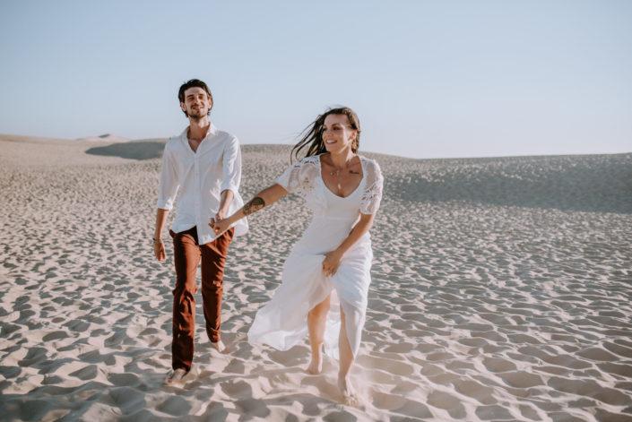 Séance sur la Dune du Pilat- Lea Rose et Guillaume